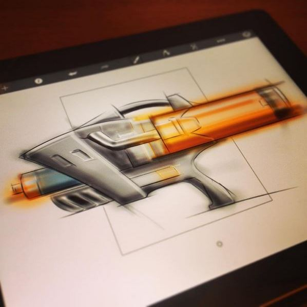 digital design sketching